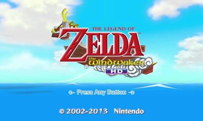 Legend of Zelda Wind Waker HD