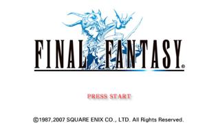Final Fantasy I PSP
