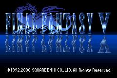 Final Fantasy V GBA